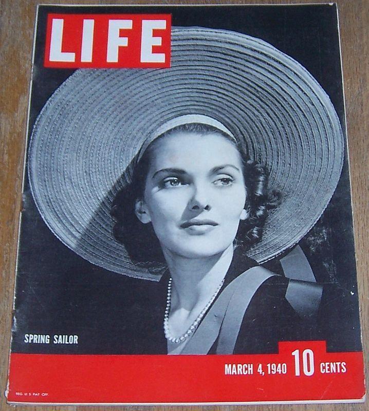 Life Magazine March 4, 1940 Thomas Dewey/Santa Fe Railroad/Pablo Picasso/Miami