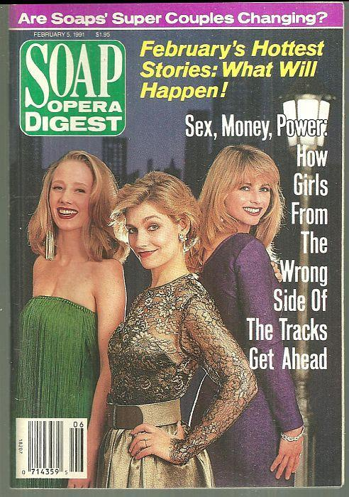 Soap Opera Digest Magazine February 5, 1991 Bad Girls on the Cover