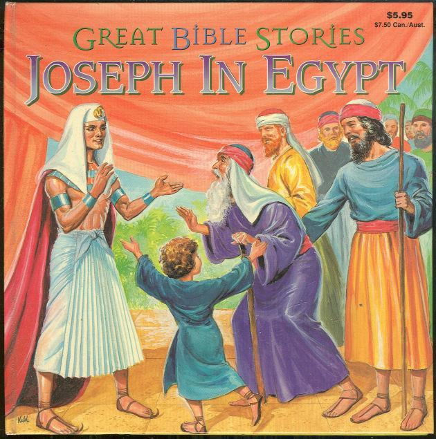 Joseph in Egypt Great Bible Stories by Maxine Nodel Illustrated by Norman Nodel
