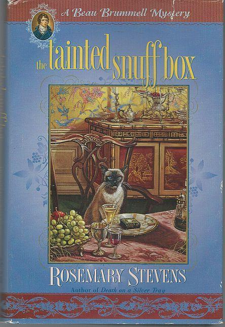 Tainted Snuff Box by Rosemary Stevens Beau Brummell Cozy Mystery #2 with DJ