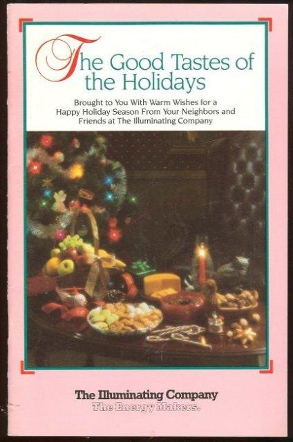Good Tastes for the Holidays Illuminating Co. Cleveland