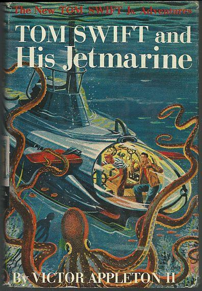 Tom Swift and His Jetmarine by Victor Appleton Jr. 1954 #2 w/ Dust Jacket