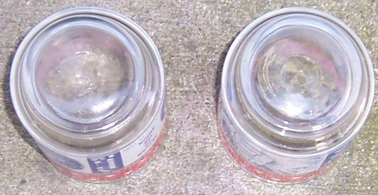 Set of Two Vintage Apollo 12 Return to the Moon Space Drinking Glasses