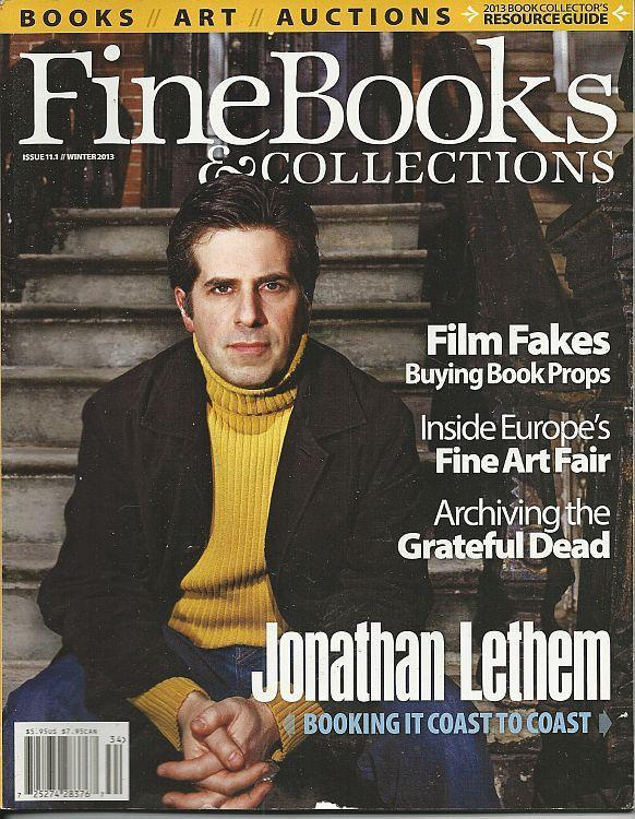 Fine Books and Collections Magazine Winter 2013 Jonathan Lethem/Grateful Dead