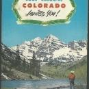 Cool, Colorful Colorado Invites You Colorado Vacation Travel Booklet Illustrated