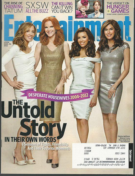 Entertainment Weekly Magazine March 30, 2012 Desperate Housewives/Armie Hammer
