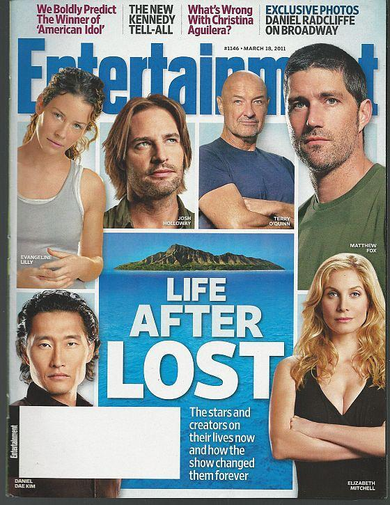 Entertainment Weekly Magazine March 18, 2011 Life After Lost/Daniel Radcliffe