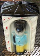 American Bisque Toy Soldier Sentry Cookie Jar