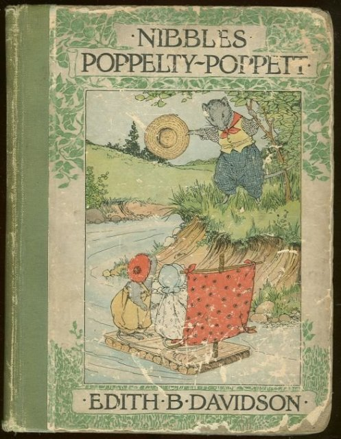 Nibbles Popppelty-Poppett by Edith Davidson 1911 1st edition