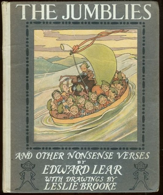 Jumblies and Other Nonsense Verses by Edward Lear