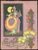 Masqueraders Deco Congress Score Pad Revised 1926