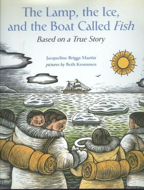 Lamp, Ice and The Boat Called Fish Picture Book 1st w/DJ