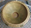 Old Roseville Florentine Console Bowl