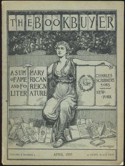 Bookbuyer April 1893 Published by Scribner's and Sons