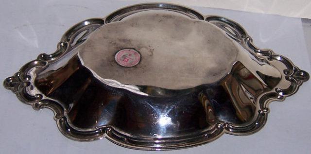 International Silver Silverplate Small Hostess Dish