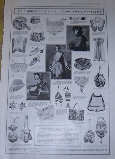 For Adornment or Utility Novelties 1916 LHJ Page