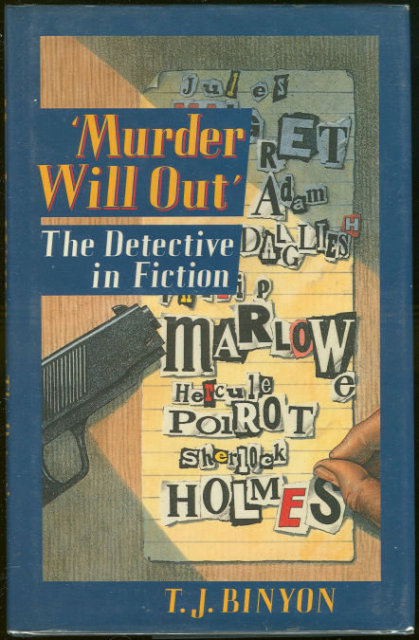 Murder Will Out ,The Detective in Fiction 1989 1st ed DJ
