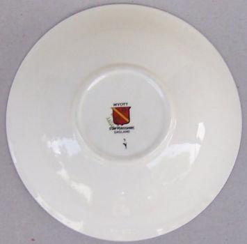Myott Staffordshire England Elegance Soup Bowl