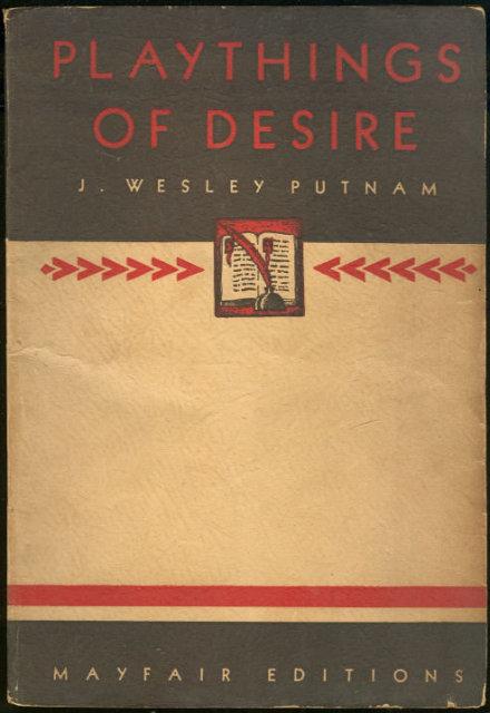 Playthings of Desire by J. Wesley Putnam Mayfair Paperback