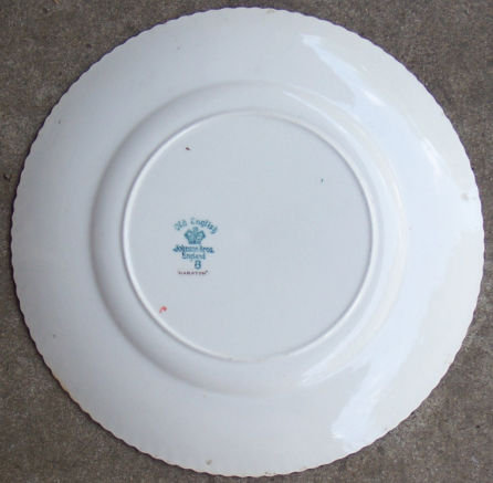 Johnson Bros England China Old English Hampton Plate