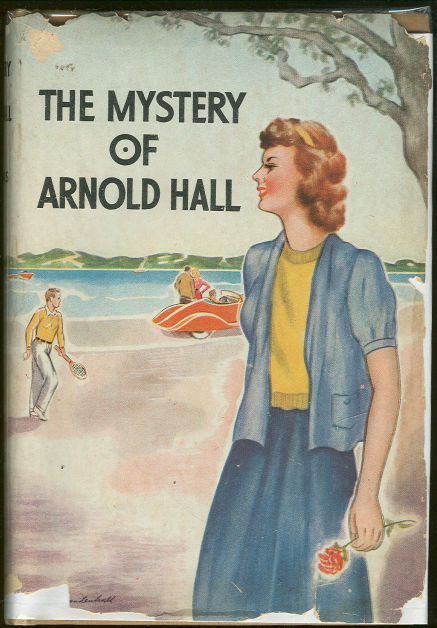 Mystery of Arnold Hall by Helen Persons 1936 with DJ