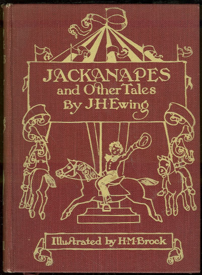 Jackanapes and Other Stories by Juanita Ewing 1926 Illu
