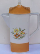 Grand Bahama, Japan Handpainted Stoneware Coffee Pot
