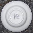 Vintage Salem China Symphony Flat Soup Bowl w/ Flowers