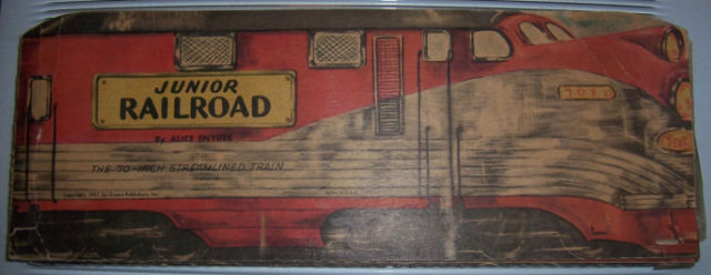 Junior Railroad The 70-Inch Streamlined Train by Snyder