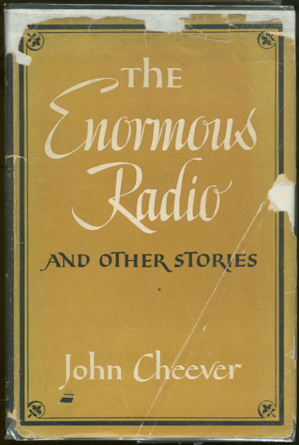 Enormous Radio and Other Stories by John Cheever 1st DJ