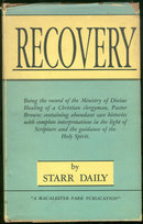 Recovery by Starr Dailey 1948 1st edition w/ DJ Signed