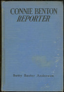 Connie Benton Reporter Signed by Betty Anderson 1941