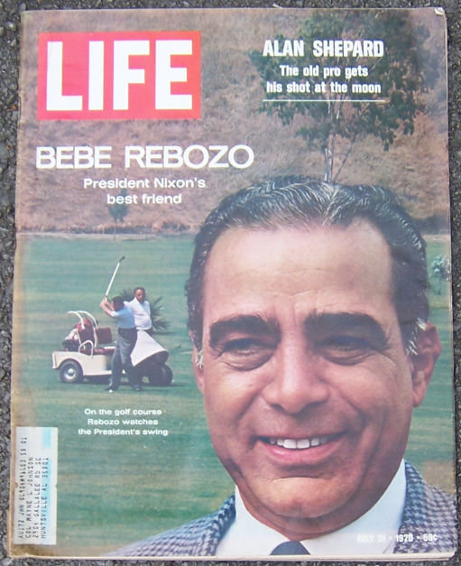 Life Magazine July 31 1970 Bebe Reboz Nixon's Friend
