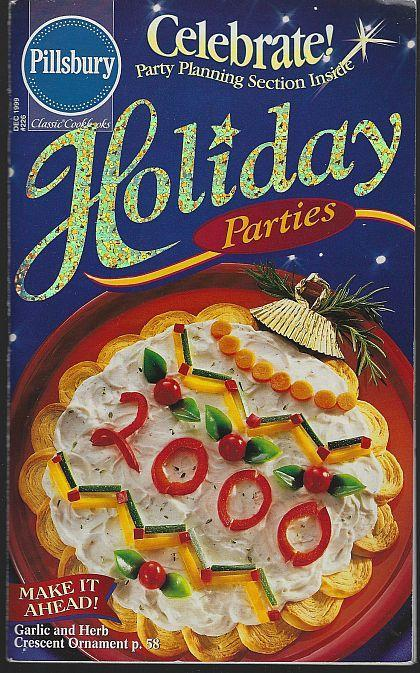 PIllsbury Holiday Parties December 1999 Illustrated Recipes Swing Party/Paris