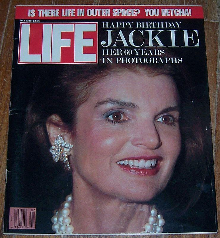 Life Magazine July 1989 Happy Birthday Jackie Cover/Billy Crystal/Dr. Seuss