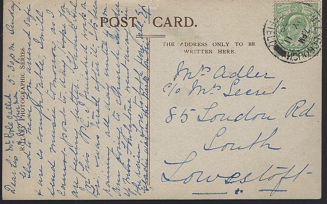 Postcard Dollar Princess Alice Pollard, Vernon Davidson, and Robert Michaelis