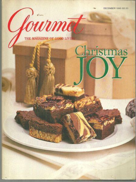 Gourmet Magazine December 1996 Christmas Joy cover/Christmas in Jackson Hole