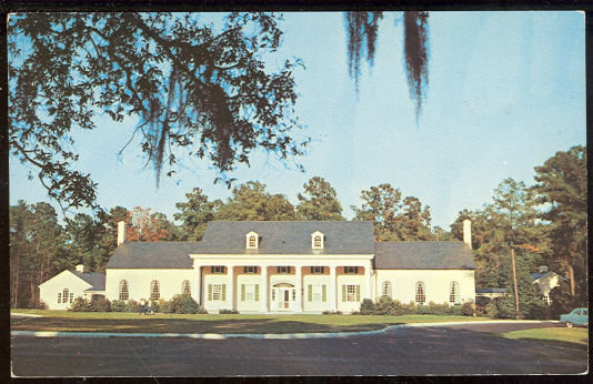 Postcard of Stephen Foster Museum Building, Florida