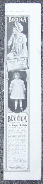 Bucilla Needlework Products 1916 Magazine Advertisement