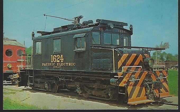 Vintage Unused Postcard Orange Empire Trolley Museum, Perris, California