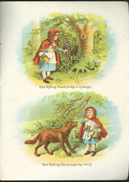 Fairyland Tales and ABCs Victorian Linen Book Illus