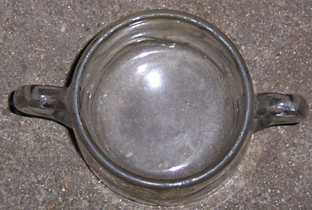 Vintage Glass Creamer with Floral Silver Overlay