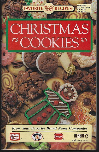 Favorite Brand Names Christmas Cookies 1995 Holiday Favorites Bar Choc