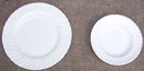 Franciscan Pottery White Coronado Plate and Bowl