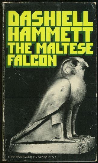 Maltese Falcon by Dashiell Hammett 1972 Vintage Paperback Classic Noir Mystery