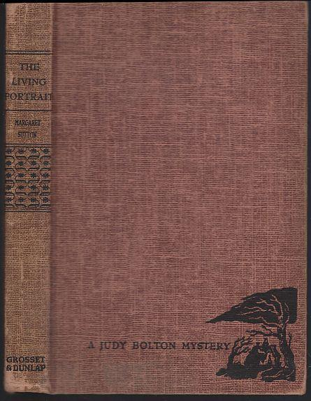 Living Portrait by Margaret Sutton Judy Bolton Mystery #18 Red Tweed 1947