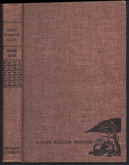Seven Strange Clues by Margaret Sutton Judy Bolton Mystery #4 Tweed 1932