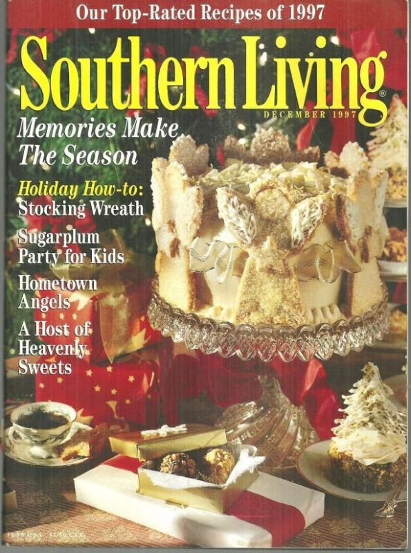 Southern Living Magazine December 1997 Seasons of the South/Christmas Decatur AL