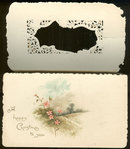 Victorian Christmas Card To Wish You Sunny Days