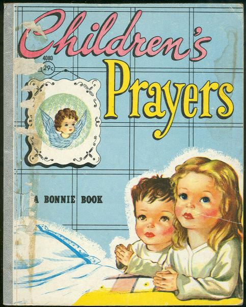 Children's Prayers by Peter David 1956 Bonnie Book